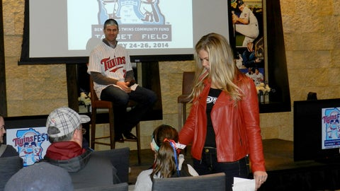 Kendall hosts Kids Q&A with Joe Mauer