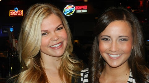Kendall and Angie enjoyed the Timberwolves 112 - 97 win over the Utah Jazz.