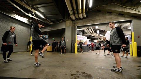 Minnesota Wild at Colorado Avalanche: 1/30/14