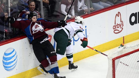 Minnesota Wild at Colorado Avalanche: 1/30/14