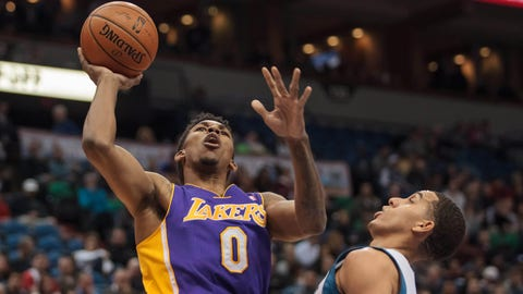 Lakers at Wolves: 2/4/14