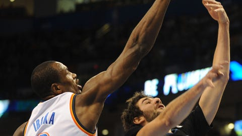 Wolves at Thunder: 2/5/14