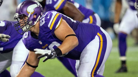 Chase Baker, Vikings defensive tackle