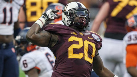 Donnell Kirkwood, Gophers running back