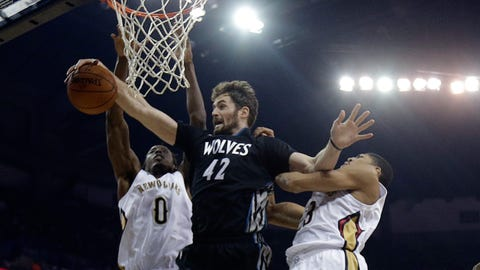 Wolves at Pelicans: 2/7/14
