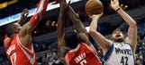 Wolves fizzle in fourth quarter in loss to Rockets