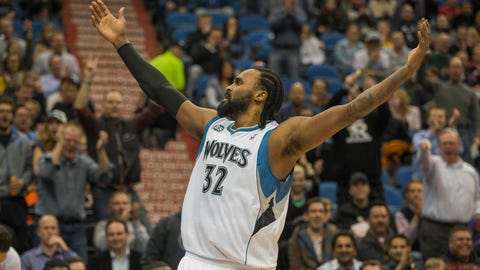 Nuggets at Wolves: 2/12/14