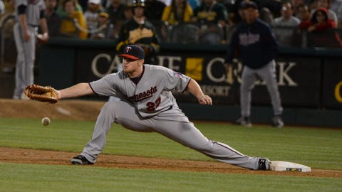 1B/OF CHRIS PARMELEE -- 2013 STATS: .228/.309/.354, 8 HR, 24 RBI in 101 games