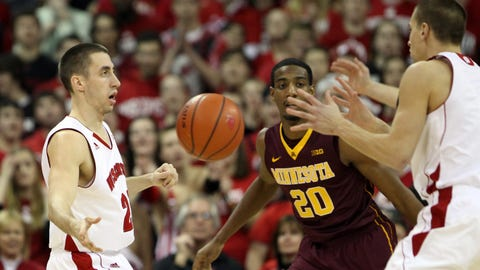 Gophers at Badgers: 2/13/14