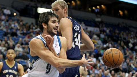 In pictures: Ricky Rubio
