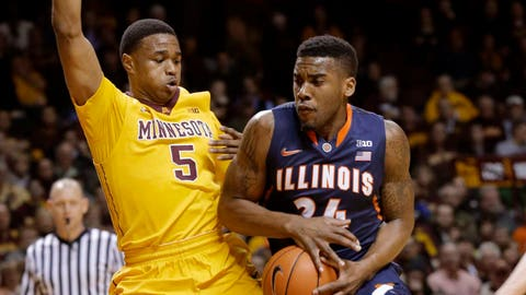 Illini at Gophers: 2/19/14