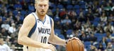 T-Wolves forwards Budinger, Muhammad to miss final six games of season