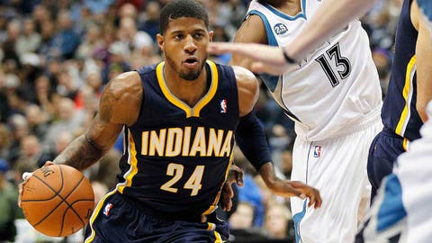 Pacers at Timberwolves: 2/19/14
