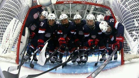 Gigi Marvin, former Gophers and current Team USA women's defenseman