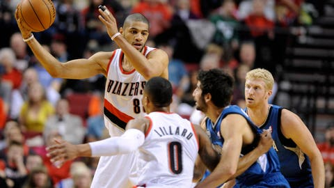 Timberwolves at Trail Blazers: 2/23/14