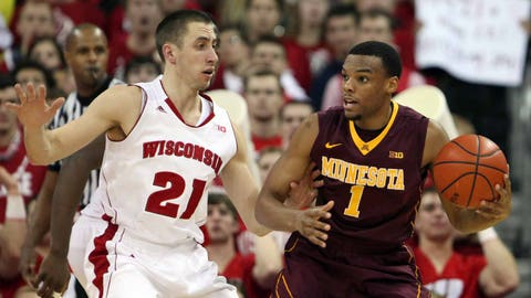 The Gophers have been able to compete with the Big Ten's best