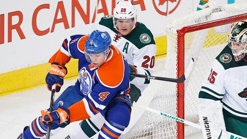 Wild at Oilers: 2/27/14