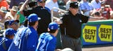 First MLB instant replay upheld during Twins-Blue Jays game