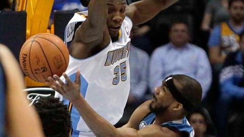 Timberwolves at Nuggets: 3/3/14