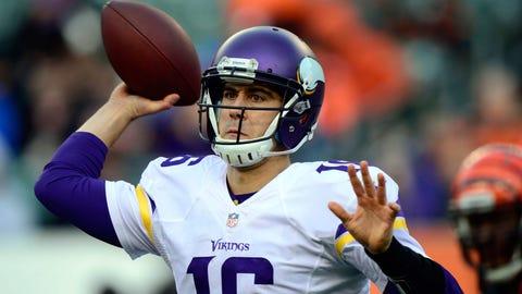 Vikings QB Matt Cassel, $5.25 million