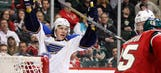 Oshie, Blues top Wild in shootout