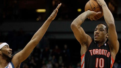 Raptors at Timberwolves: 3/9/14