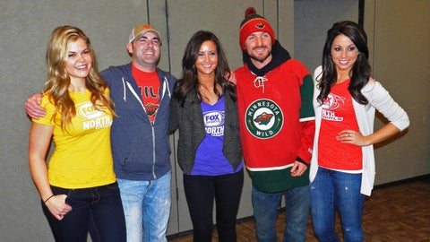 The March to the Playoffs Is On and the FOX Sports North Girls can't wait to cheer the Wild on!