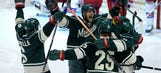 Parise's tiebreaking, third-period goal leads Wild past Rangers