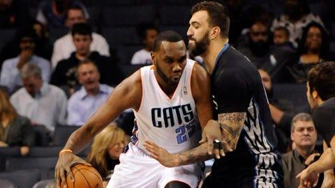 Wolves at Bobcats: 3/14/14