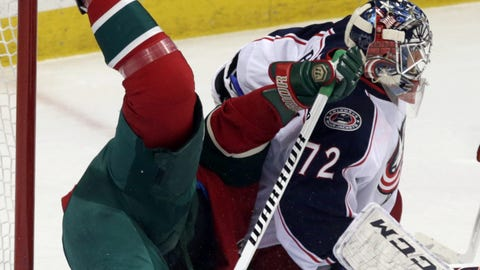 Blue Jackets at Wild: 3/15/14
