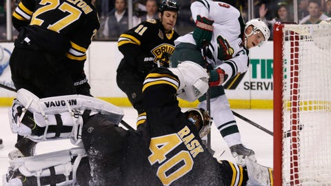 Wild at Bruins: 3/17/14