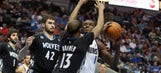 Wolves outlast Mavs, 123-122 in OT