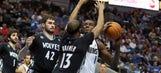 Wolves outlast Mavs, 123-122 in OT