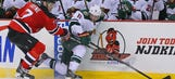 In Parise's return to New Jersey, Wild fall 4-3 in OT