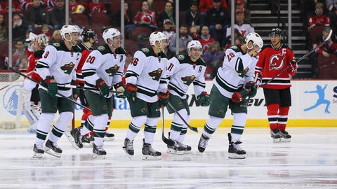 Minnesota Wild at New Jersey Devils: 3/20/14