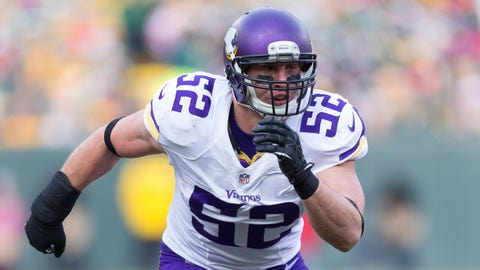 LB Chad Greenway, unrestricted