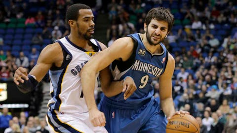 Grizzlies at Timberwolves: 4/2/14