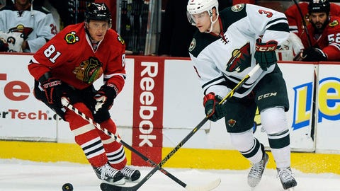 Blackhawks at Wild: 04/03/14