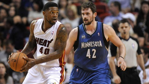 Wolves at Heat: 4/4/14