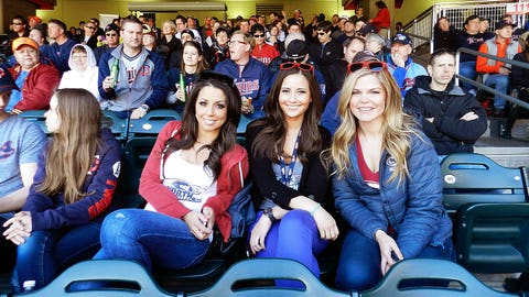 It may have been a little chilly in the shade, but nonetheless, it was a great day for baseball!