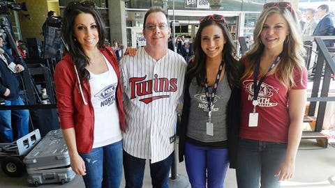 Don't forget to stop by the set of Twins Live the next time you're at Target Field. You never know who you may run into!
