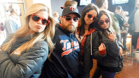 It's a tough crowd sporting these FOX Sports North sunglasses!
