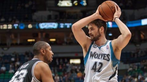 Spurs at Wolves: 4/8/14