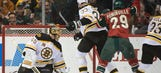 Bruins at Wild: 4/8/14