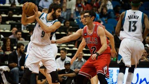 Bulls at Wolves: 4/9/14