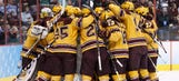 Gophers score with 0.6 seconds left to advance to NCAA championship
