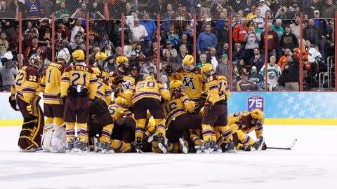 Minnesota Golden Gophers vs. North Dakota Fighting Sioux: 4/10/14
