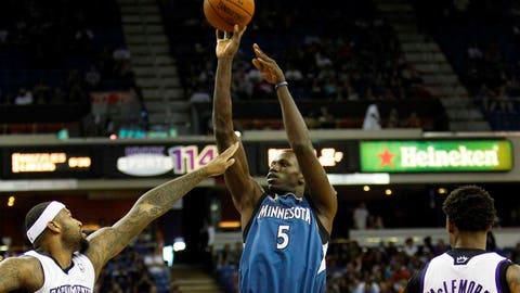 Timberwolves at Kings: 4/13/14