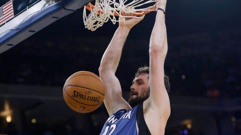 Timberwolves at Warriors: 4/14/14