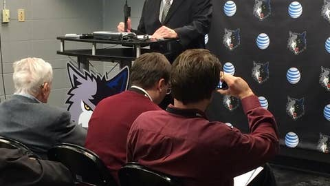 Chris Wright, Timberwolves president